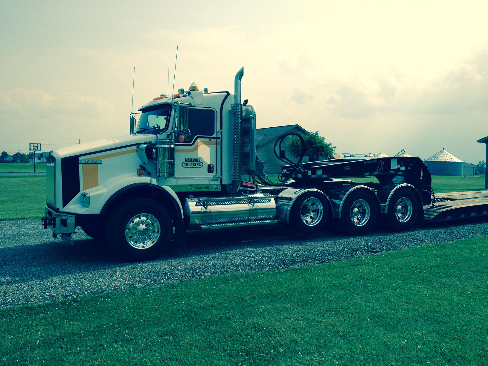 Behrenwald Trucking 8-Axle Low Boy